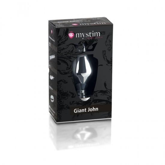 Giant John butt plug XXL Электростимулятор анальная пробка MyStim