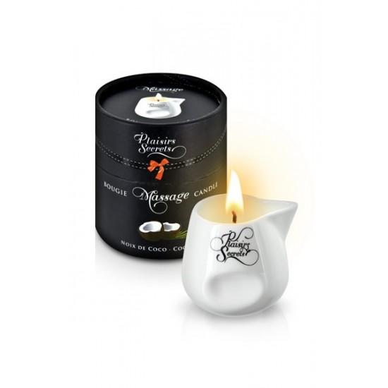 MASSAGE CANDLE COCONUT 80ML Свеча с массажным маслом Кокос 80 мл