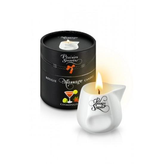 MASSAGE CANDLE COSMOPOLITAN 80ML Свеча с массажным маслом Коктель COSMOPOLITAN 80 мл