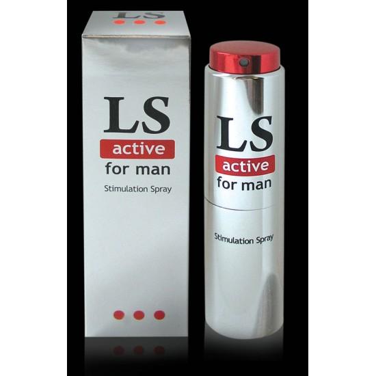 LOVESPRAY ACTIVE спрей для мужчин (стимулятор) 18мл.