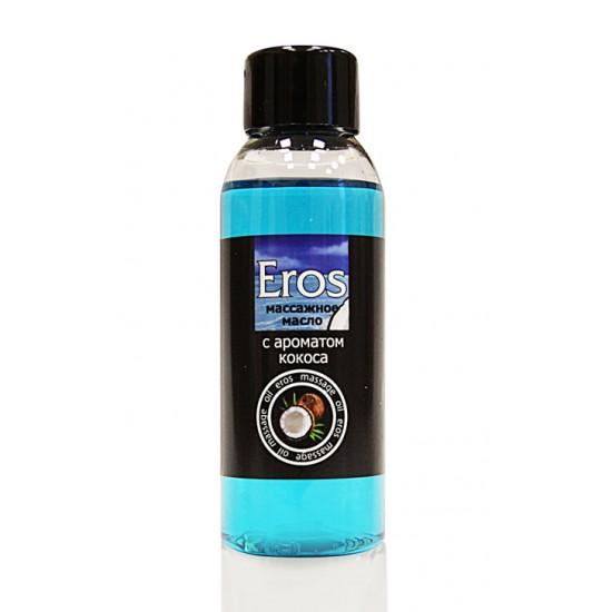 Масло массажное EROS TROPIC (с ароматом кокоса) флакон 50мл