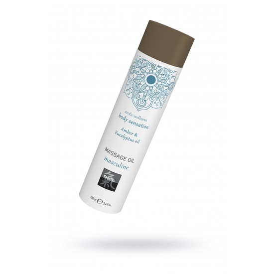 Массажное масло masculine - Амбра и масло эвкалипта, 100 мл.