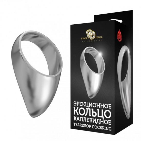 Эрекционное кольцо на мошонку среднее  TEARDROP COCKRING № 4