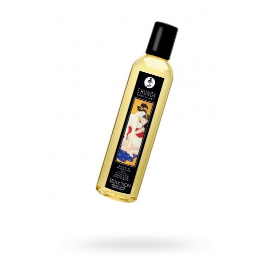 Масло для массажа Shunga Seduction «Midnight flower», натуральное, возбуждающее, с цветочным аромато