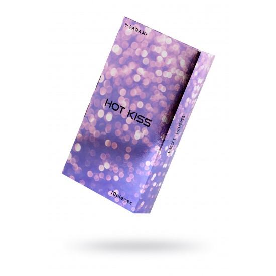 Презервативы латексные Sagami  Hot Kiss №10