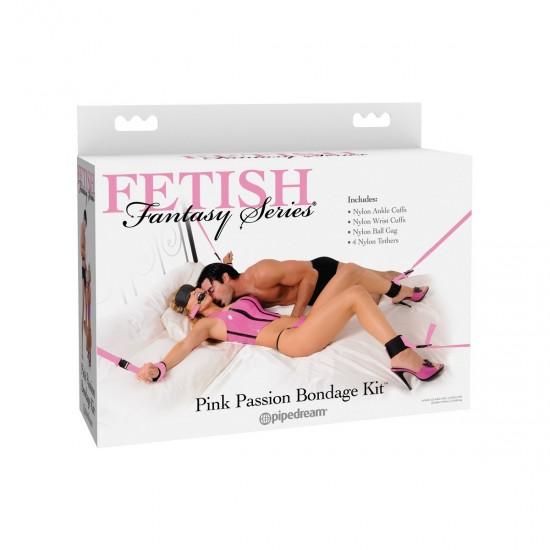 Набор для фиксации Fetish Fantasy Series Pink Passion Bondage Kit