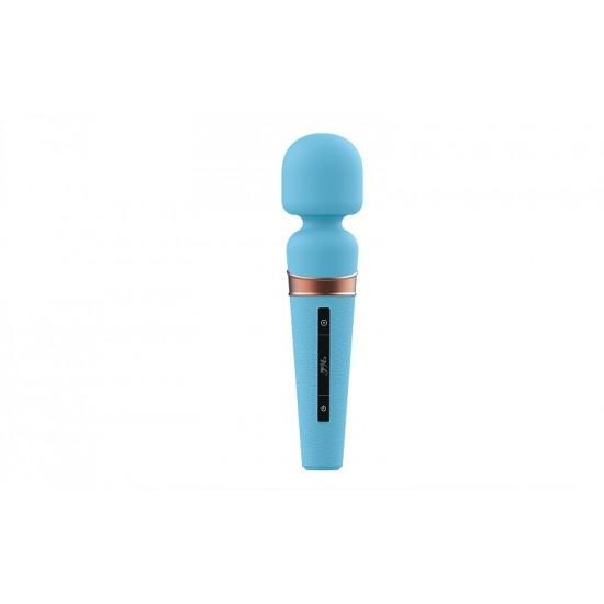 Viotec Titan голубой вибростимулятор с Soft Silicon головкой